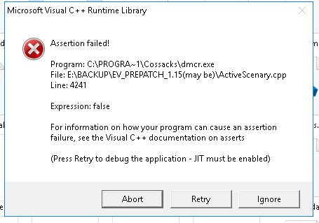 microsoft visual c++ runtime library windows xp