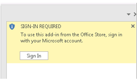 microsoft word sign in required not working