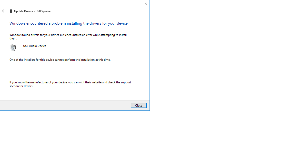 My realtek drivers are gone and i have no audio - Microsoft