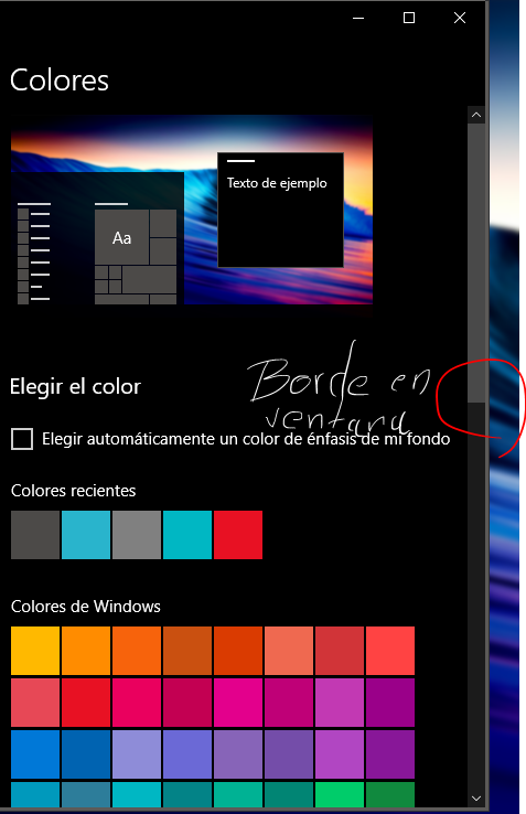 Windows 10 - Eliminar bordes en ventanas y aplicaciones. - Microsoft ...
