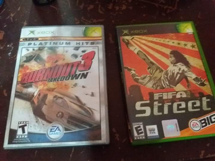 FIFA STREET 1 AND BURNOUT 3 TAKEDOWN ON BACKWARD COMPATIBLE