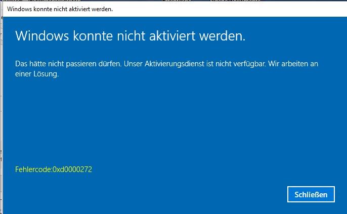 Windows Fehler 2