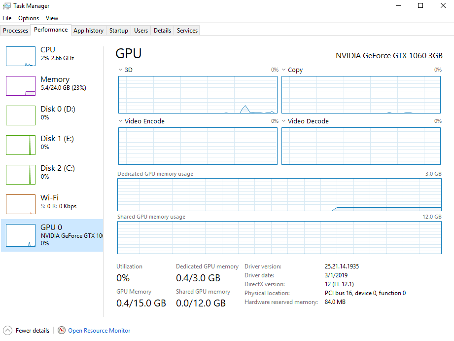 too much shared memory with the gpu - Microsoft Community