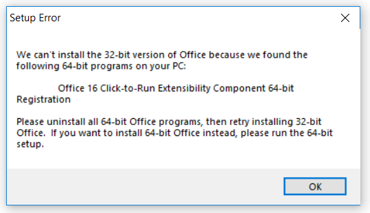 Microsoft Access: unable to install Access Runtime - Microsoft Community