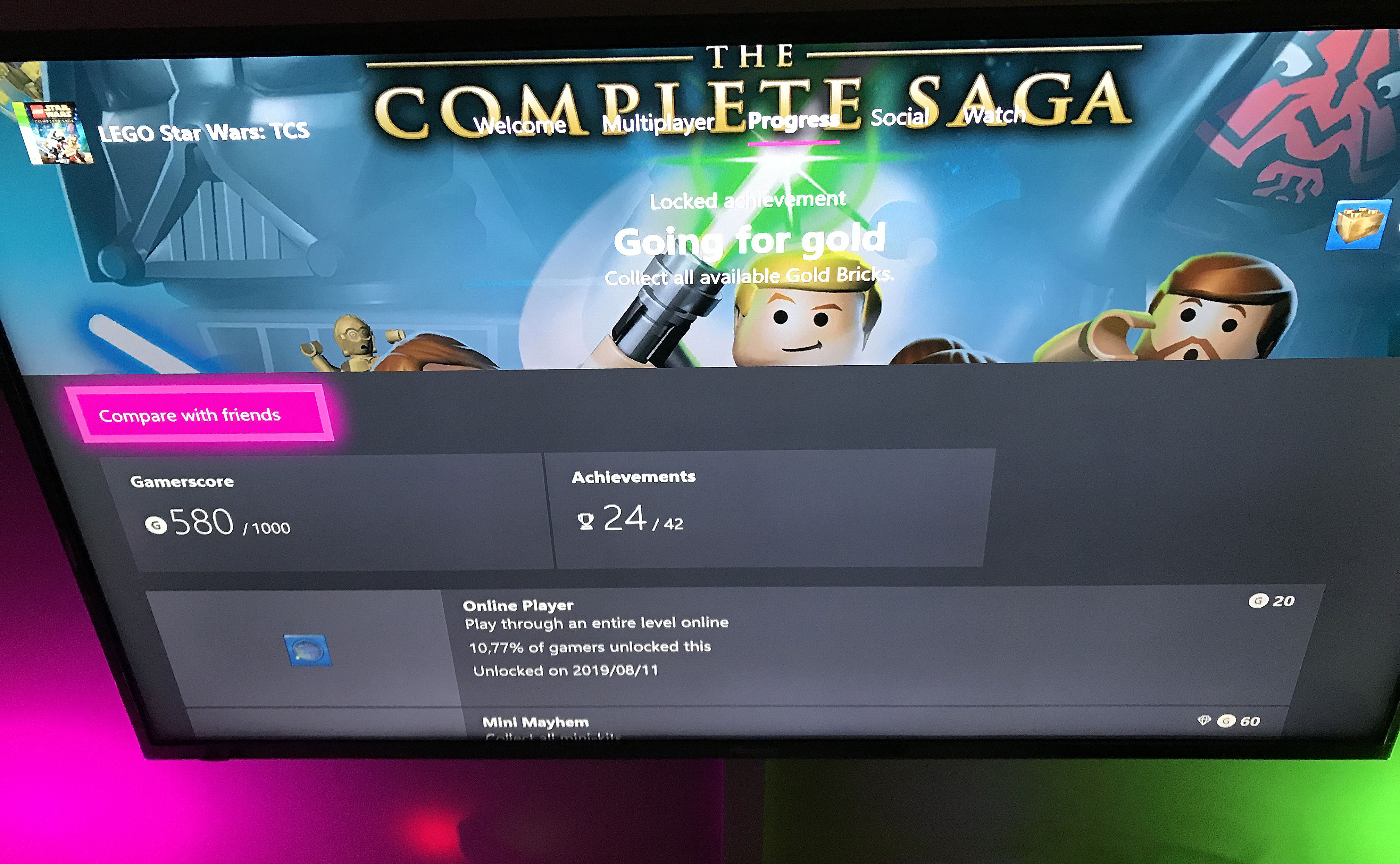 Game Save & Progress Issue [IMG]