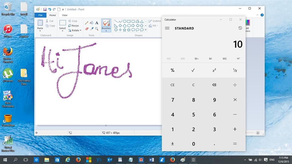 where to find paint in windows 10