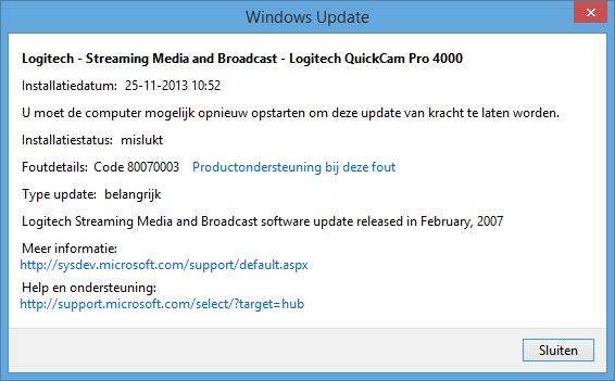 Logitech Quickcam Pro 4000 Webcam Installation In Windows 8 1