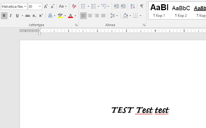 Helvetica Font in Word looks very weird - Microsoft Community
