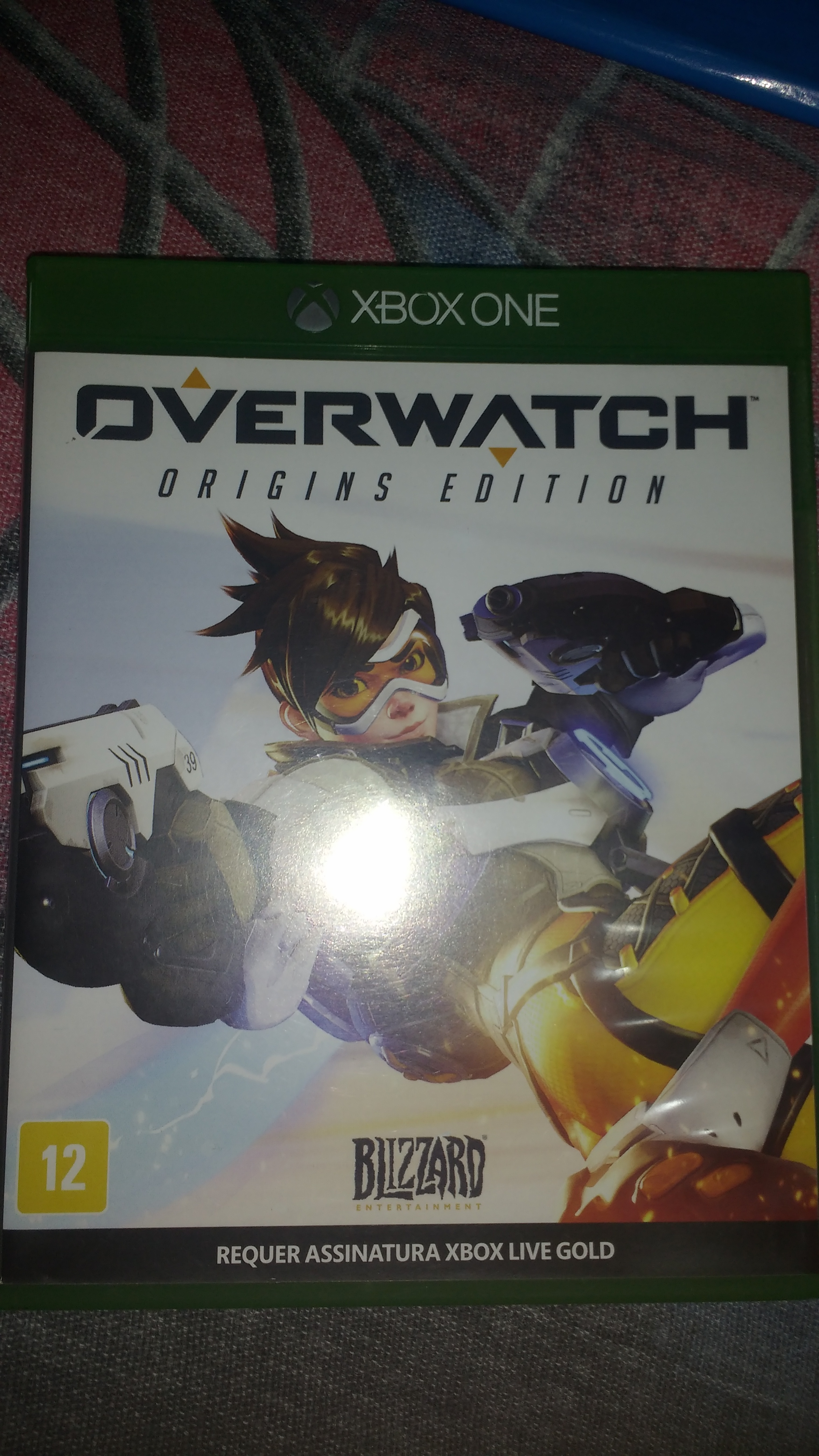 Overwatch: Origins Edition Physical Media Not Recognized by