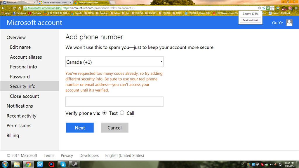 how to change phone number on microsoft account
