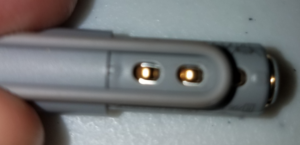 Surface Pro 4 Pen not writing but the buttons and the eraser