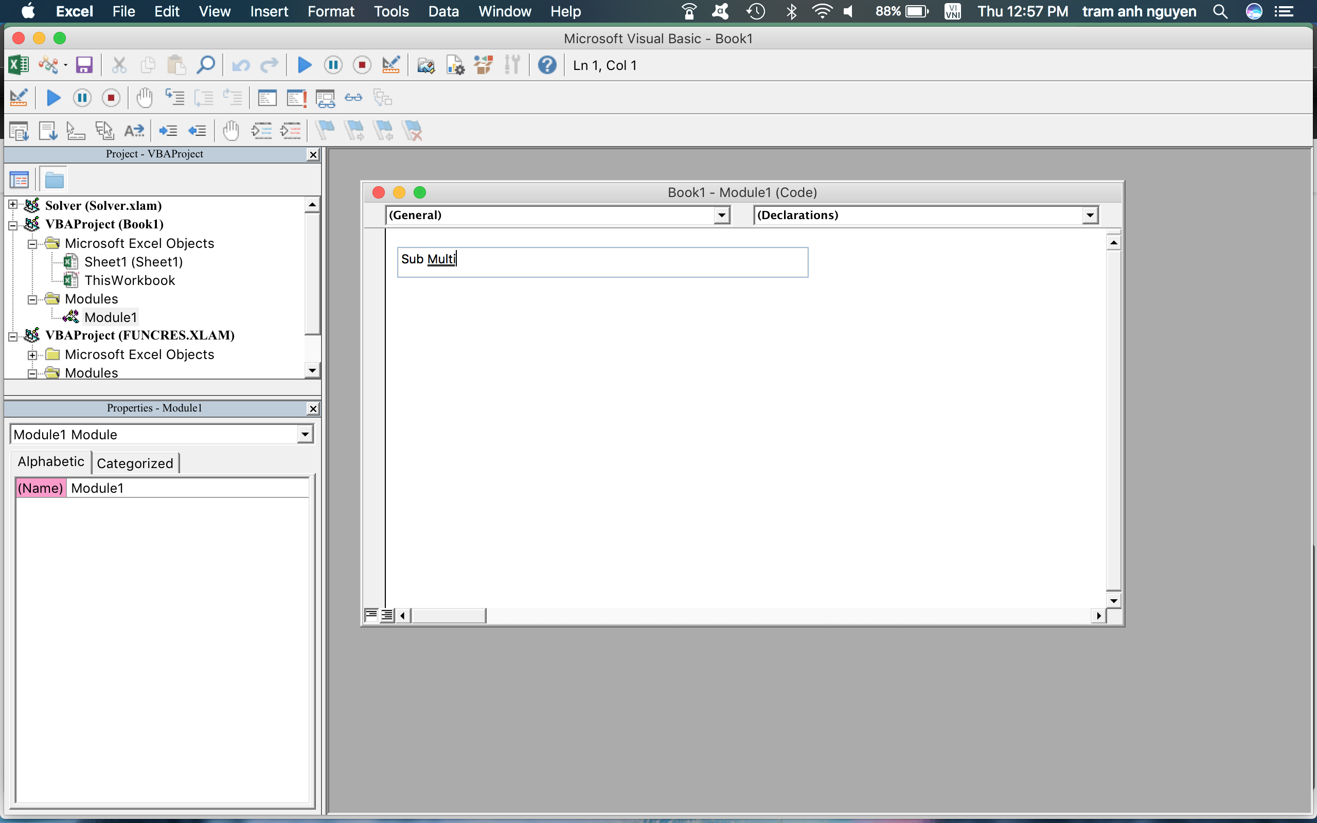 Vba Excel on Mac - Microsoft Community