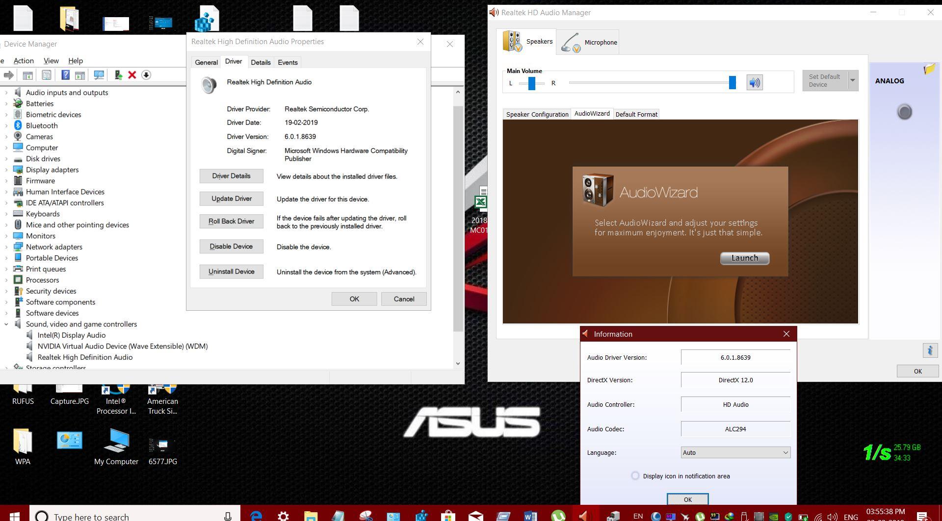 realtek hd audio manager windows 7 32 bit update
