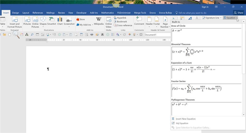 Microsoft Equation Editor 3.0 - Microsoft Community