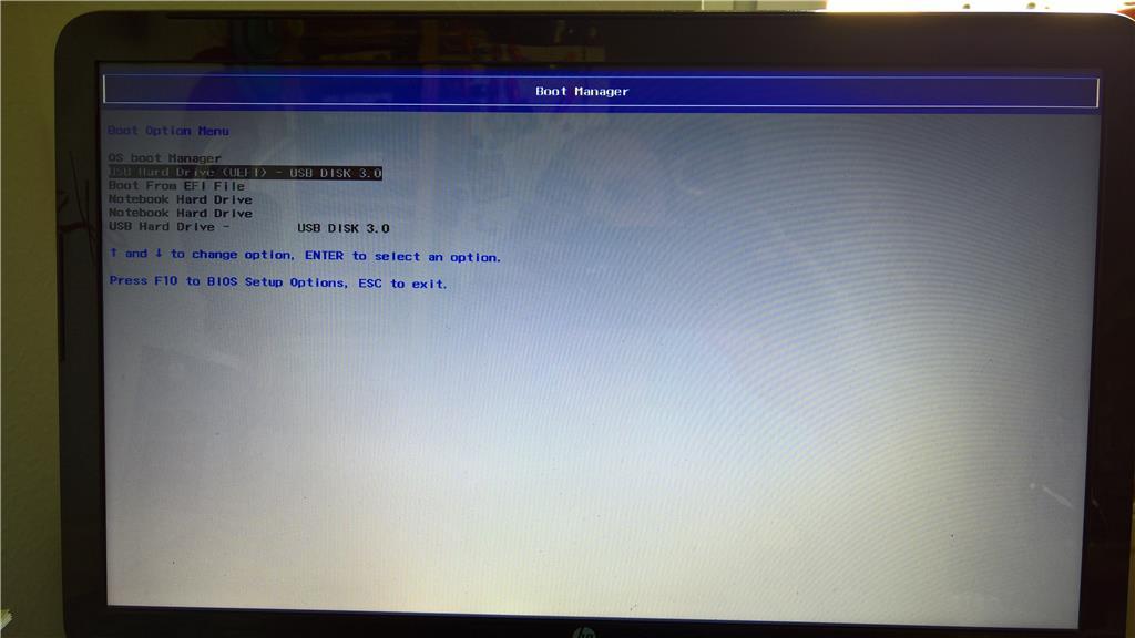 Kein Betriebssystem mehr nach Update vom Sonntag 9.7.