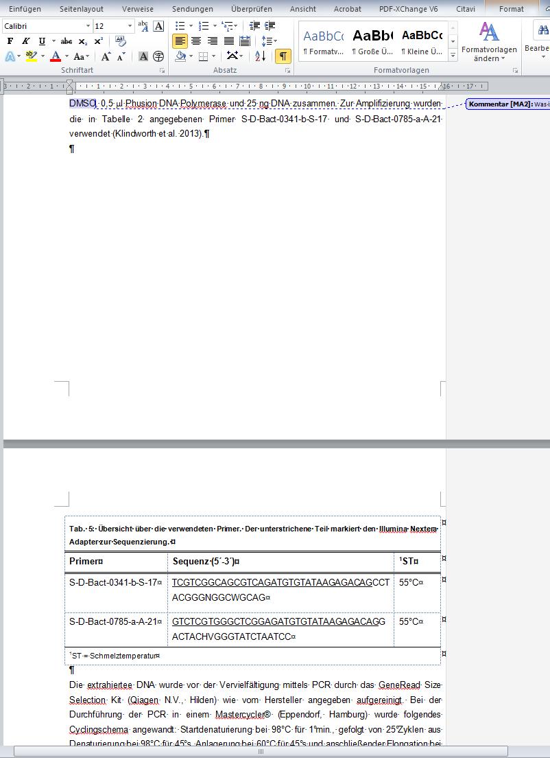 Tabelle verschieben in Word funktioniert nicht obwohl freier Platz ...