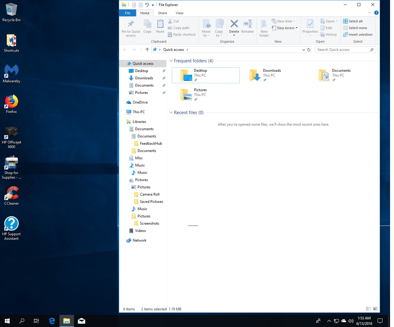 Windows feature update problems, Libraries - Microsoft Community