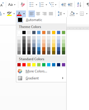 adding and organizing custom colors not custom theme colors