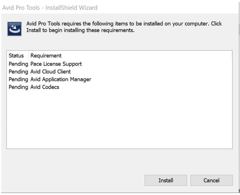 Windows Installer v5 problem  Avid Pro Tools unable to