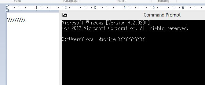 Sign Is Replaced With Japanese Yen Sign In Cmd Microsoft Community