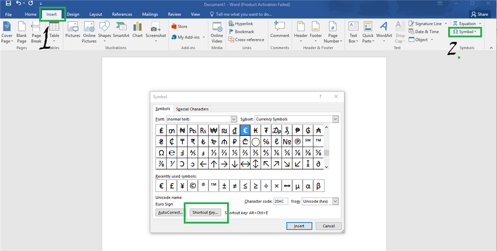 Inr Rupee Symbol Microsoft Community