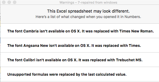 Excel crashes when opening a certain file in Mac, no issues