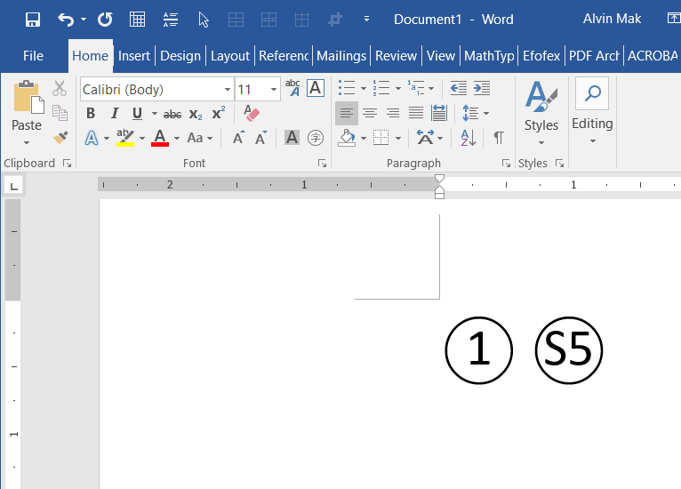 Enclosed characters - Microsoft Word - Microsoft Community