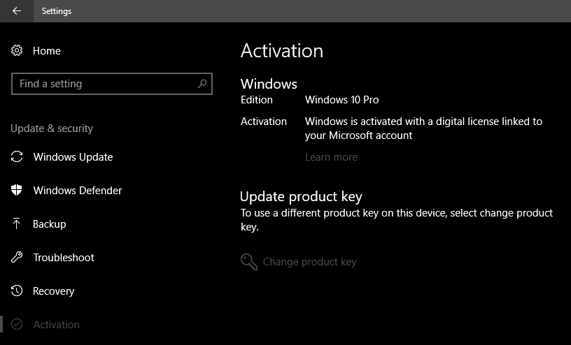 windows 10 activated then deactivated