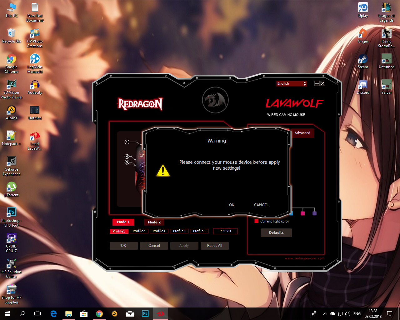Driver For My Redragon Lavawolf Microsoft Community