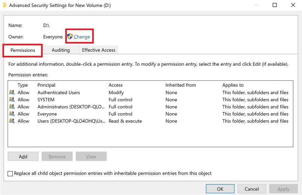 Access denied to files - Microsoft Community
