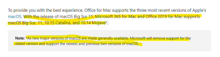 Microsoft Office Update For Macos Catalina