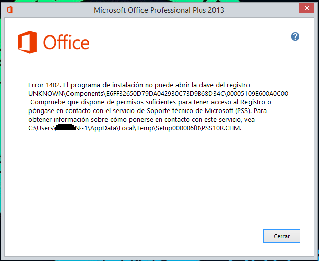 claves office 2013