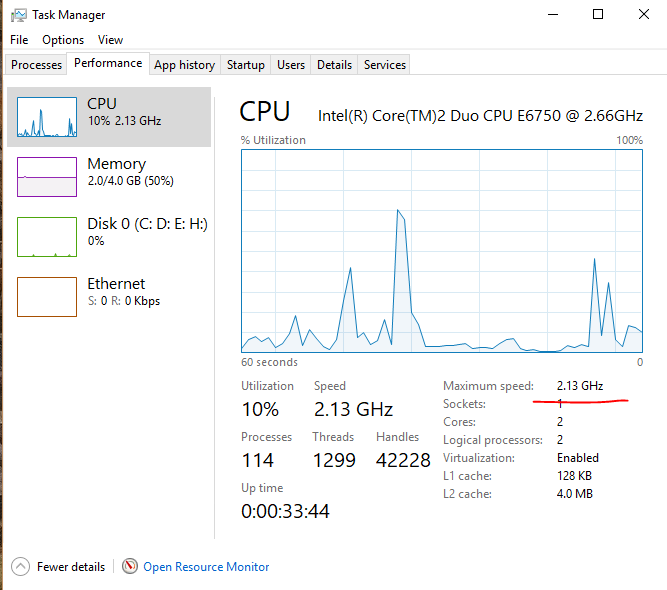 windows 10 is running slow, and cpu speed showing wrong microsoftProcessor Speed Slow #3