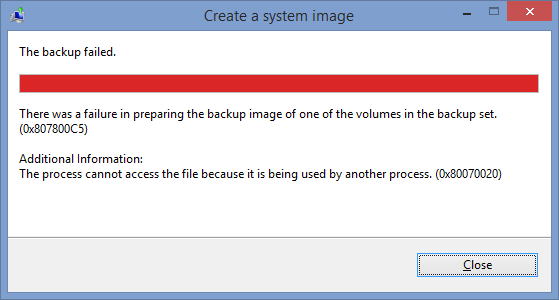 how to create windows 8.1 system image backup