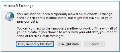 Issue with Outlook 2013 Client after Staged Migration