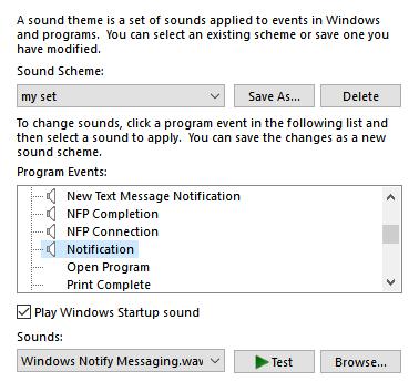 windows 10 pro 1703 system sounds problem - Microsoft Community
