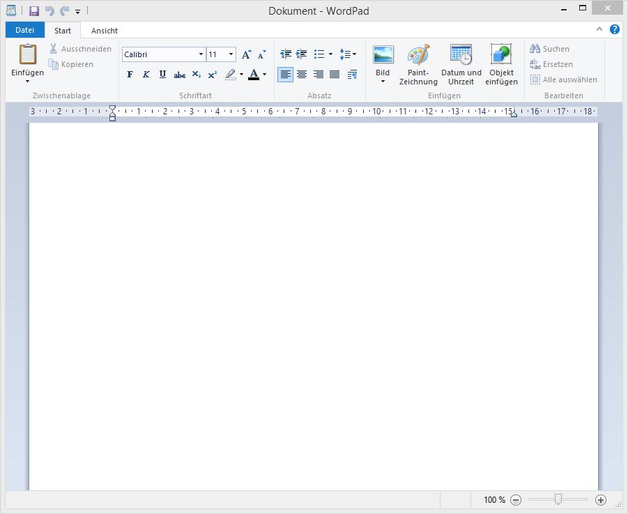 wordpad schreibprogramm