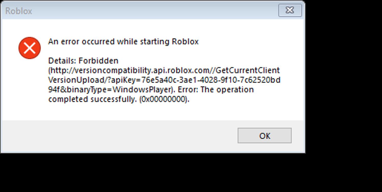 Roblox Error Code Microsoft Community