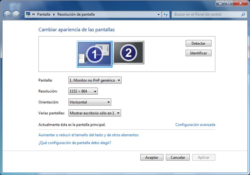 mi pc no me da la resolución de mi monitor? - Microsoft