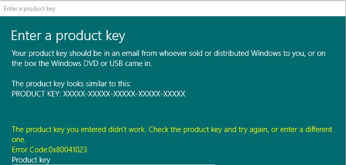 cara mengatasi type your windows product key