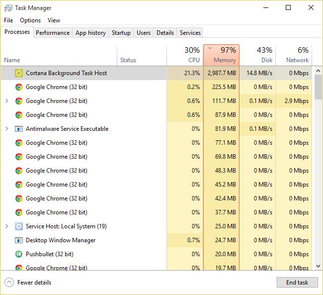Cortana Background Task Host - Microsoft Community