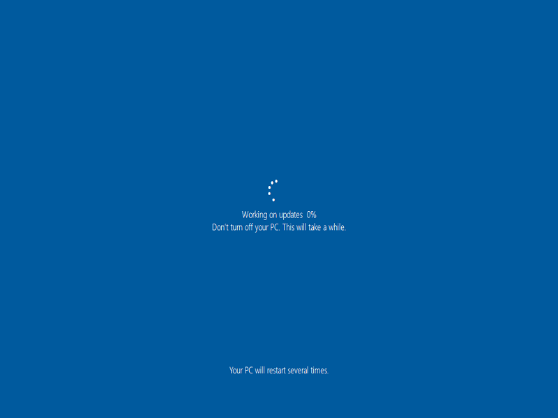 how to upgrade to windows 10 version feature update from