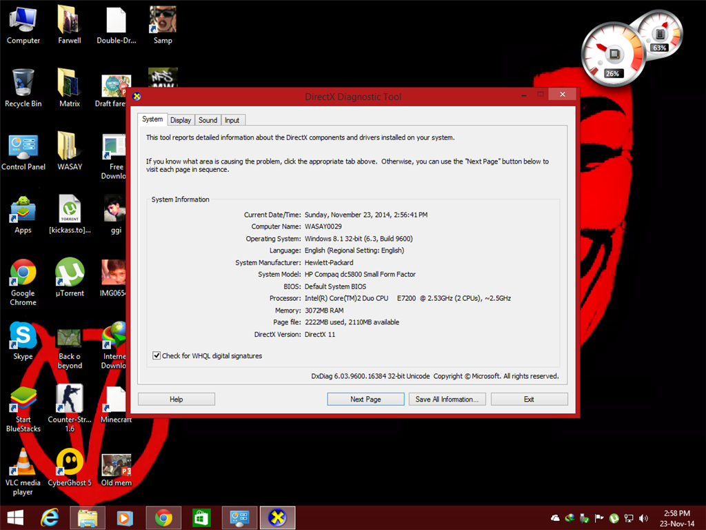 intel x3100 driver windows 8