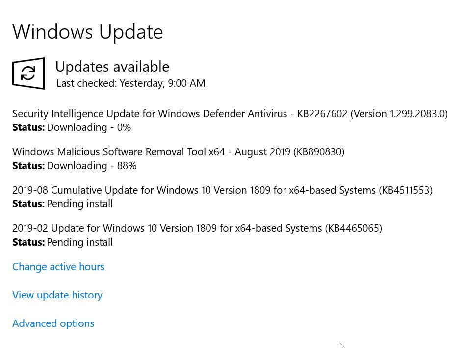 Update Stuck - Microsoft Community