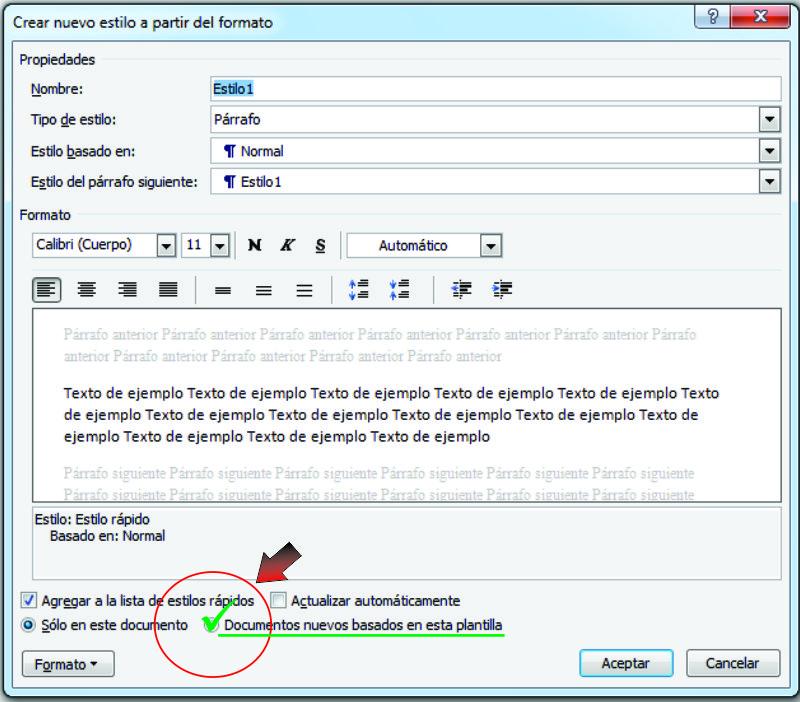 Uso de Estilos en Word - Microsoft Community