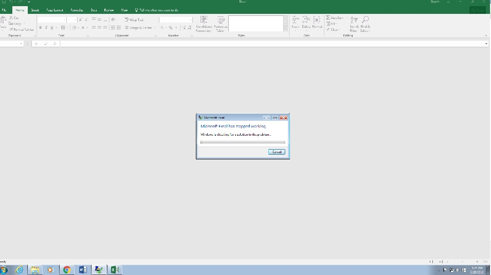 Microsoft office 2016 Not responding - Microsoft Community
