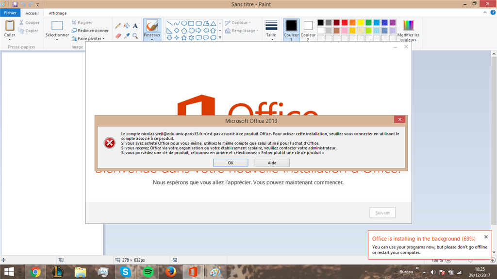 Impossible de t l charger le pack office en tant microsoft community - Pack office gratuit etudiant ...