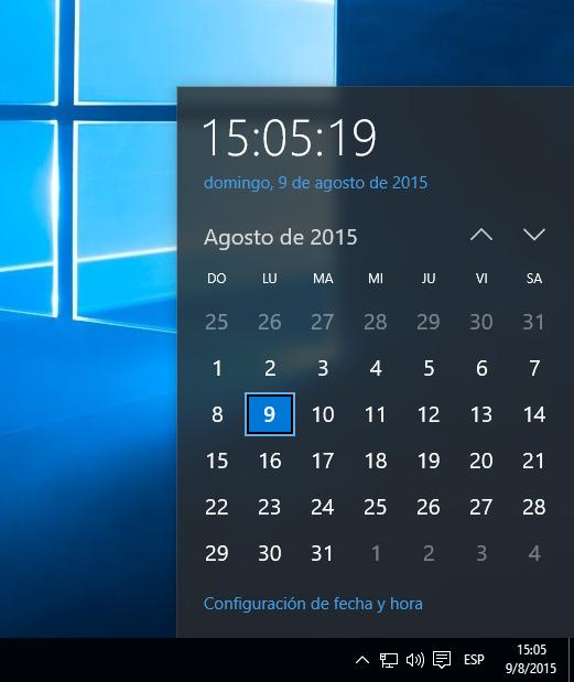 Actualizar Calendario.Discrepancia Del Calendario Con El Dia De La Semana En La