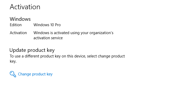 windows 10 free upgrade asking for product key