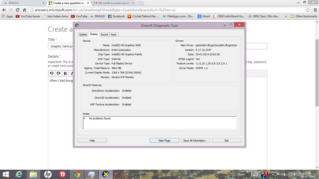 Graphic Card problem (ATI HD 7670M 2GB)-Laptop is pavilion